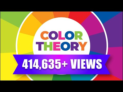 Colour Theory in Hindi, Learn How to choose Colours.
