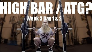 What S Up With These HIGH BAR Squats