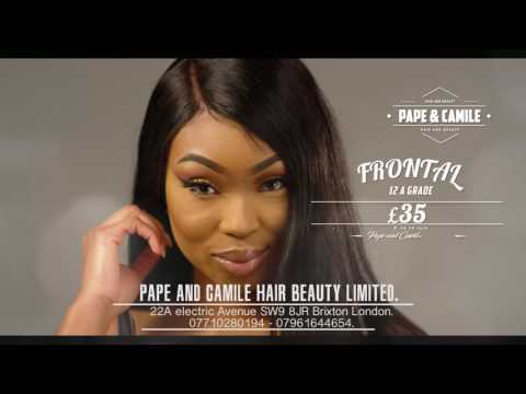 Pape and Camile Hair Promo (Rockstar)