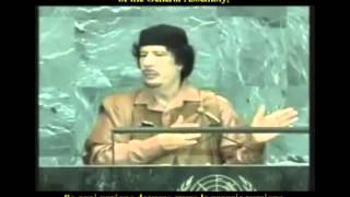 23 Sep 2009 Muammar Gaddafi speech at United Nations General Assembly