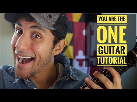 """""""You Are The One"""" Raef Guitar Tutorial"""