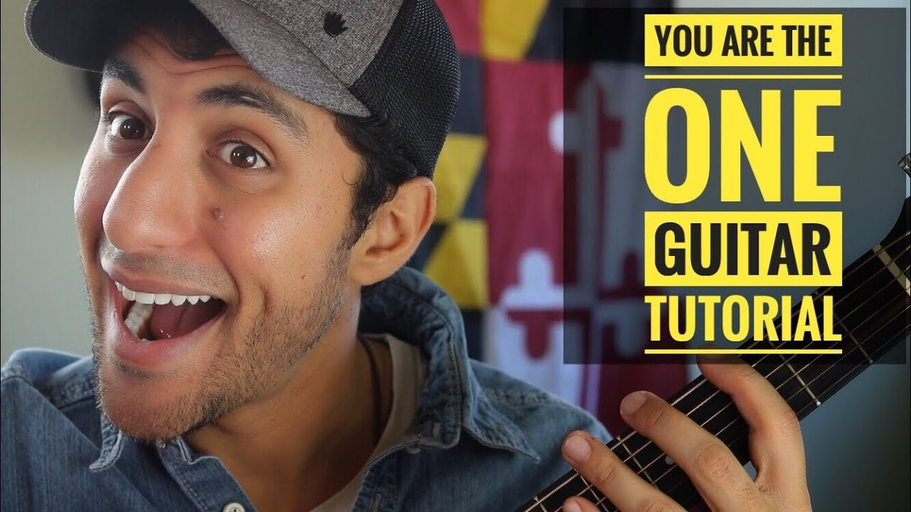 You Are The One Raef Guitar Tutorial Youtube