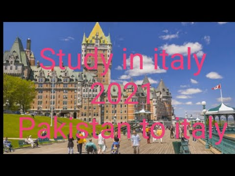 Pakistan to italy  _ Complete Application  Process _ Study  in italy   _ Study Visa Complete Detail_