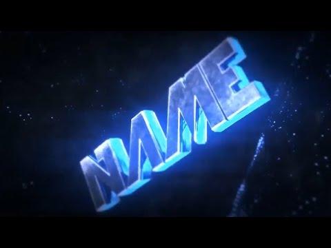 FREE 3D Blue Sync Intro Template #521 [Cinema 4D & AE]