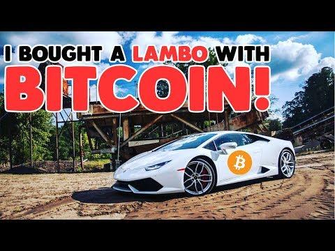 I Bought a Lamborghini Huracan with Bitcoin! THE BITCOIN LAMBO! - #TheBitcoinLambo