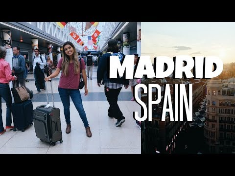 TRAVEL VLOG: Welcome to MADRID, SPAIN | ItsMandarin