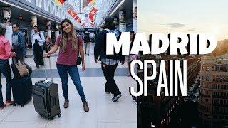 TRAVEL VLOG: Welcome to MADRID, SPAIN | ItsMandarin