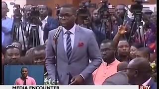 Presidential encounter -  Journalists quiz Akufo-Addo