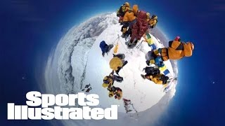 Climb Mount Everest In A Groundbreaking VR Experience | 360 Video | Sports Illustrated thumbnail