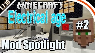 Electrical Age mod | Mod spotlight | Part 2 - Tech