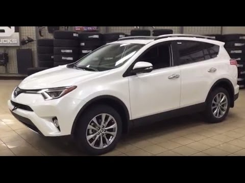 2017 toyota rav4 limited review youtube. Black Bedroom Furniture Sets. Home Design Ideas