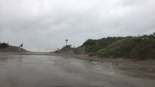 Hurricane Florence live from the beach at North Top Sail North Carolina