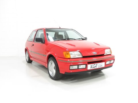 A Truly Exceptional and Original Ford Fiesta RS Turbo with Only 24,039 Miles - SOLD!
