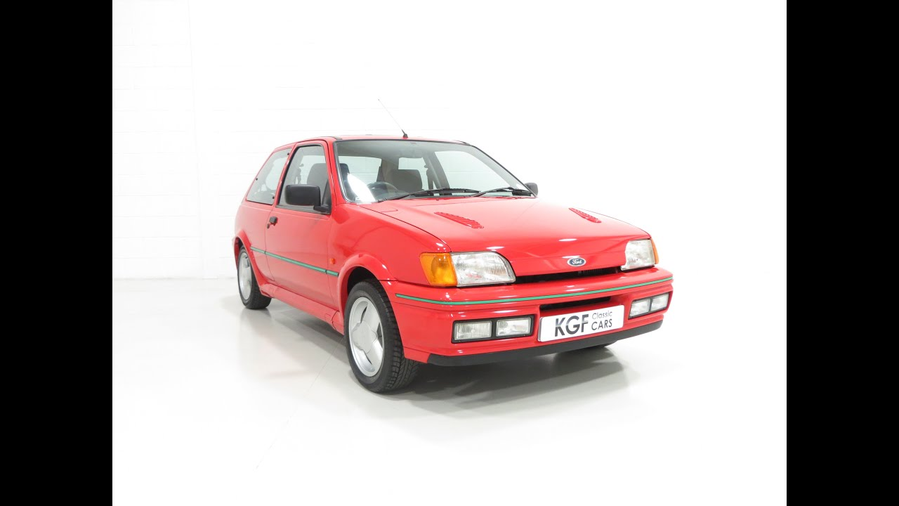 a truly exceptional and original ford fiesta rs turbo with only 24 039 miles sold youtube. Black Bedroom Furniture Sets. Home Design Ideas