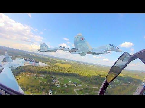Russia MOD - Su-30SM Multi-Role Fighters [1080p]