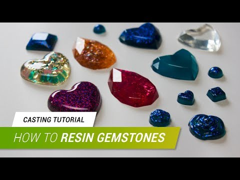 Casting Tutorial - Gemstones with Pebeo´s Crystal Resin | JakCosplay
