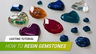 Casting Tutorial - Gemstones with Pebeo´s Crystal Resin | JakCosplay