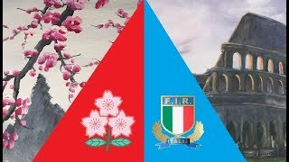 Test Match 2018 [June] - Japan v Italy (Second Match)