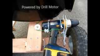 DIY Go Kart Powered by Drill Motor thumbnail