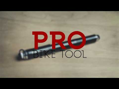 Bike Pump with Gauge: PRO BIKE TOOL Mini Bike Pump with Gauge, in focus