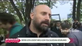 Halit Ergenc at Levent's Funeral