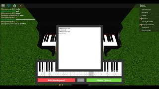 Roblox Virtual Piano - Jojo's Bizarre Adventure: Golden Wind | Best part of Giorno's theme