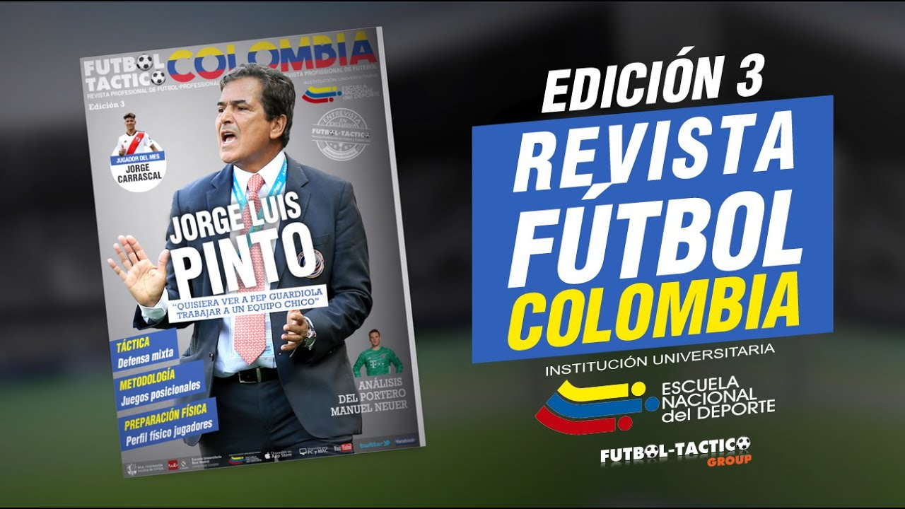 Fútbol-Táctico Colombia Edición 3