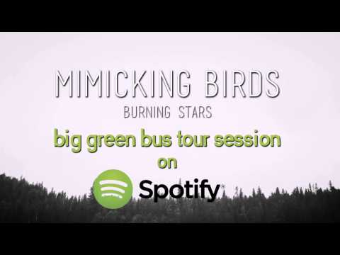 Burning Stars - Mimicking Birds (Spotify Big Green Bus Tour Session)