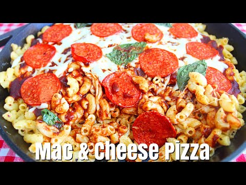 How To Make Macaroni Pizza 2018