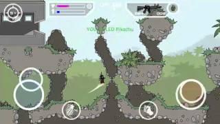 [Doodle Army 2 : Mini Militia] 20 kill killstreak