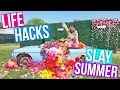 LIFE HACKS FOR SUMMER!! Diet, Fitness, Festivals + More! 2018