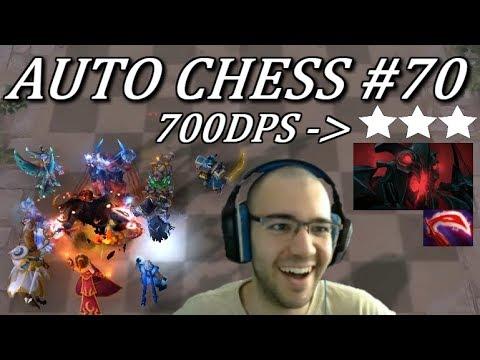 700 DPS Strongest Shadow Fiend ☆☆☆ | Dota Auto Chess Gameplay 70