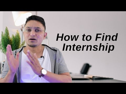 How to find Internship in IT MNC