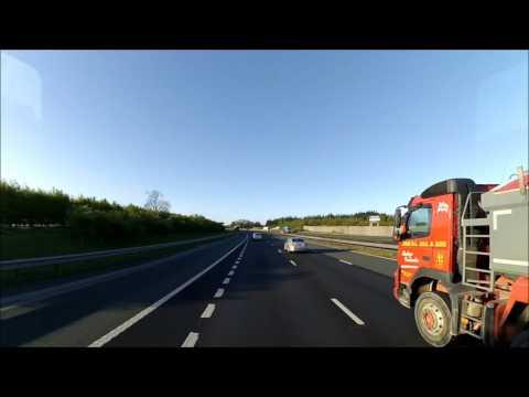 Z89 Travel : Road Trip Knaresborough, A1 M South, M18, M1, M69, M40, Moto Cherwell Valley Services.