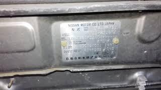 Nissan QG15-DE - 278336A AT RE4F03B FF Y11 механический дроссель