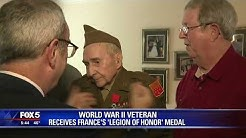 WWII veteran receives France