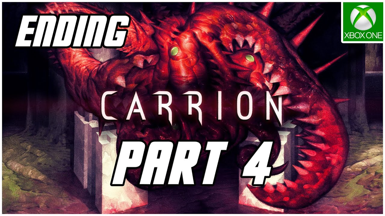 Carrion Gameplay Walkthrough Part 4 Ending No Commentary Xbox