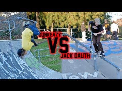 Jack Dauth VS Dunkeazy GAME OF SCOOT!