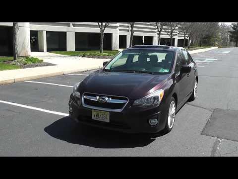 A last look at my 2012 Subaru Impreza (w/hidden radio features)
