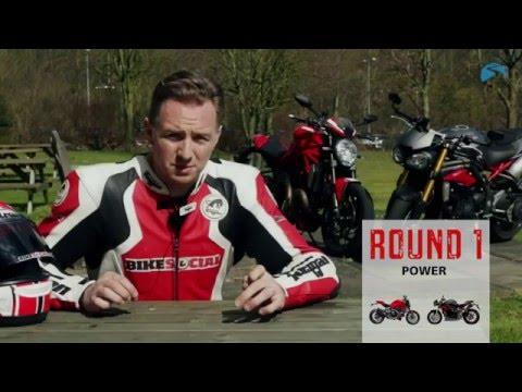 Street Fight: Ducati Monster 1200R v. Triumph Speed Triple R | Bike Social