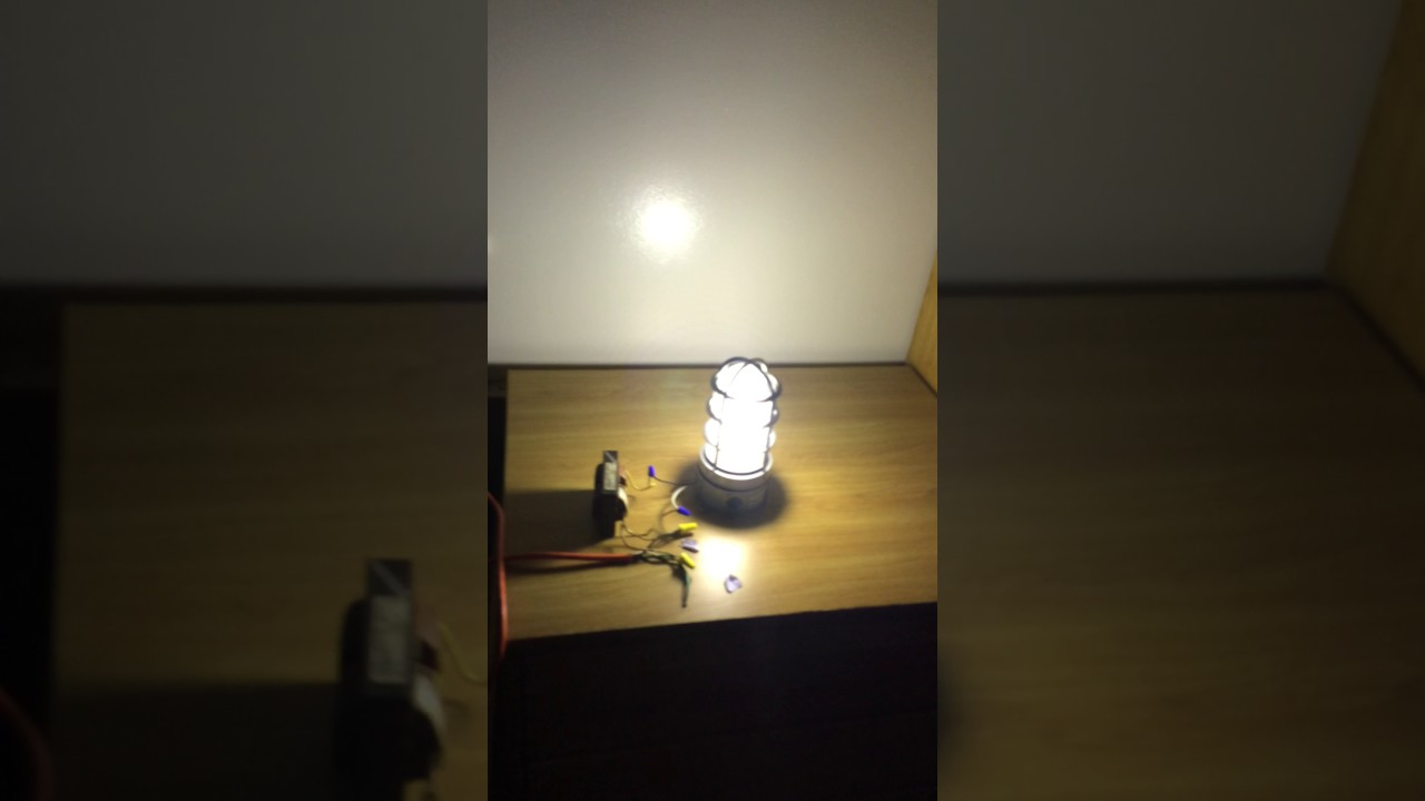 50w Mercury Vapor Lamp And Fixture First Run