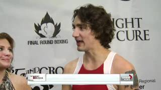 Justin Trudeau takes title in the boxing ring