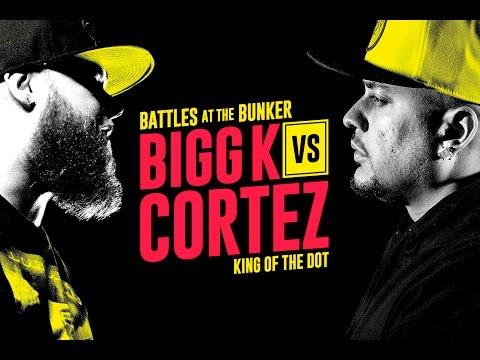 KOTD - Rap Battle - Bigg K vs Cortez   #BATB2
