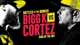 KOTD - Rap Battle - Bigg K vs Cortez