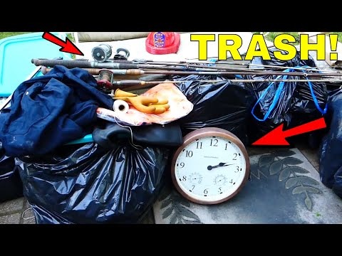 TRASH PICKING!!! Finding TREASURE!! This Is So Much FUN! (Part 1)