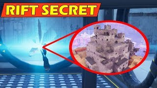 The RIFT opens a CASTLE Locations! *RIFT SECRET* Fortnite Season 6 Storyline! (Hunting Party)