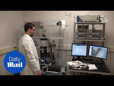Incredible moment 3D-printers create body parts from scratch - Daily Mail