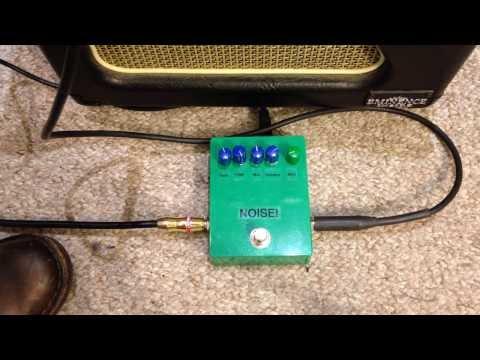 Arduino Guitar Pedal - Crazy Effects
