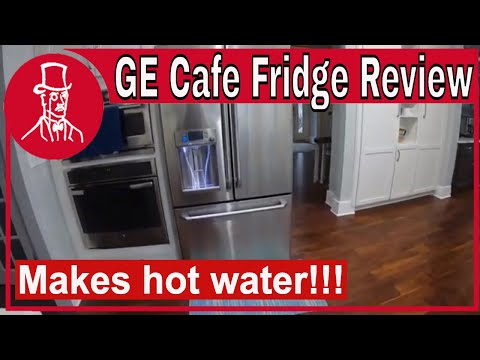 GE Cafe Refrigerator Review - Stainless Steel with French Doors