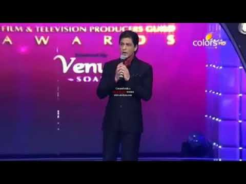 Apsara award 2012 living legends of the Indian film industry ||Shahrukh khan hosting ||